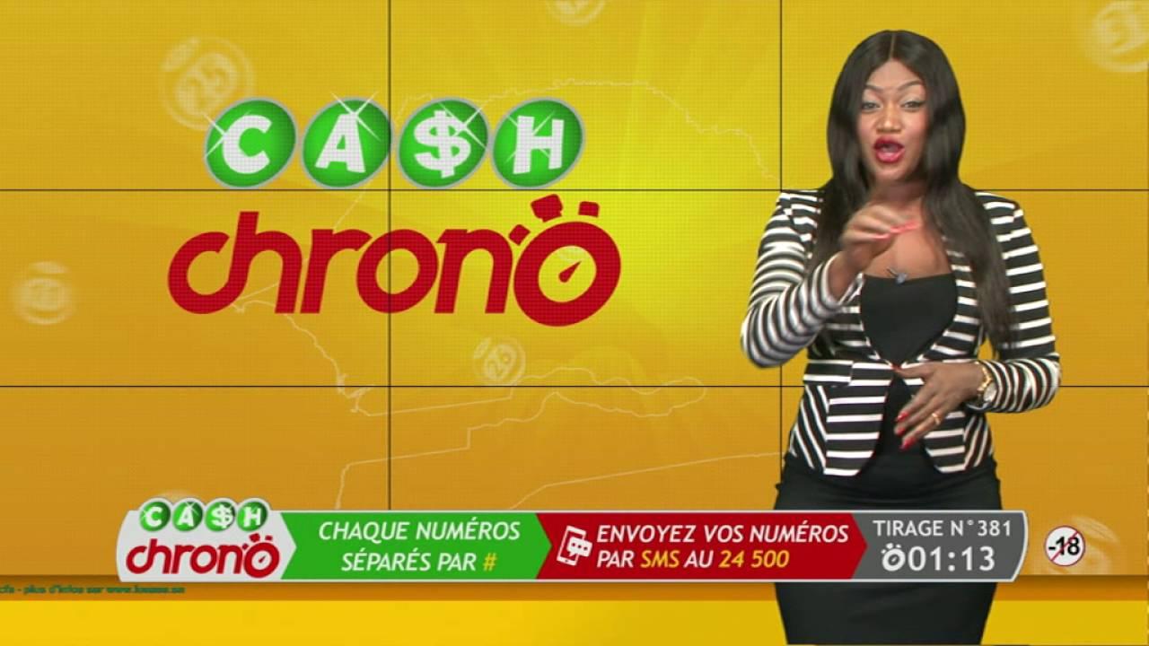 Ecran Cash Chrono TV