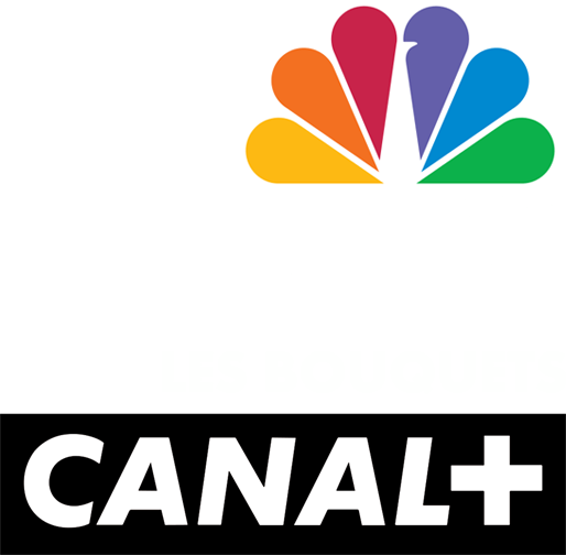 logos Les Bouquets CANAL+ & NBC Africa