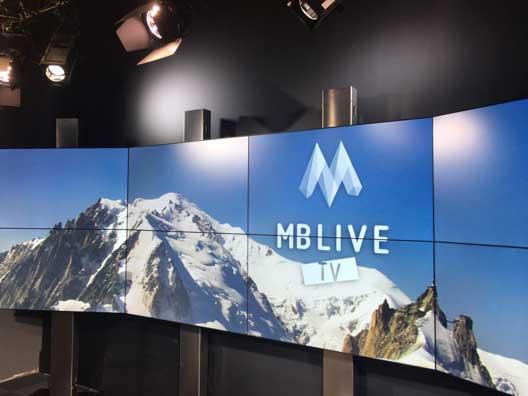 Studios de MB Live TV