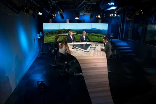 Émission en plateau sur MB Live TV