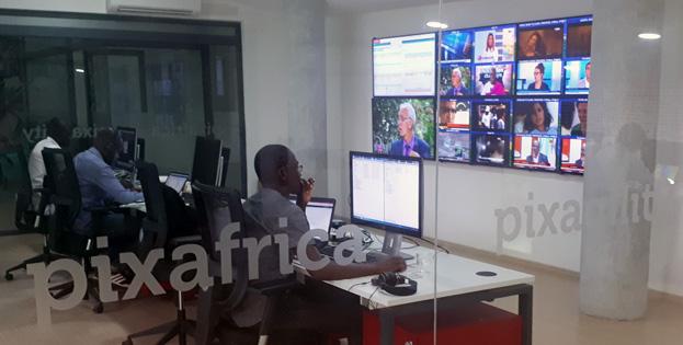 Monitoring et programmation de Pixafrica