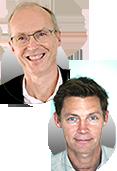 Ronan Lunven Président de Pixgility et Philippe Monzein Directeur du Développement